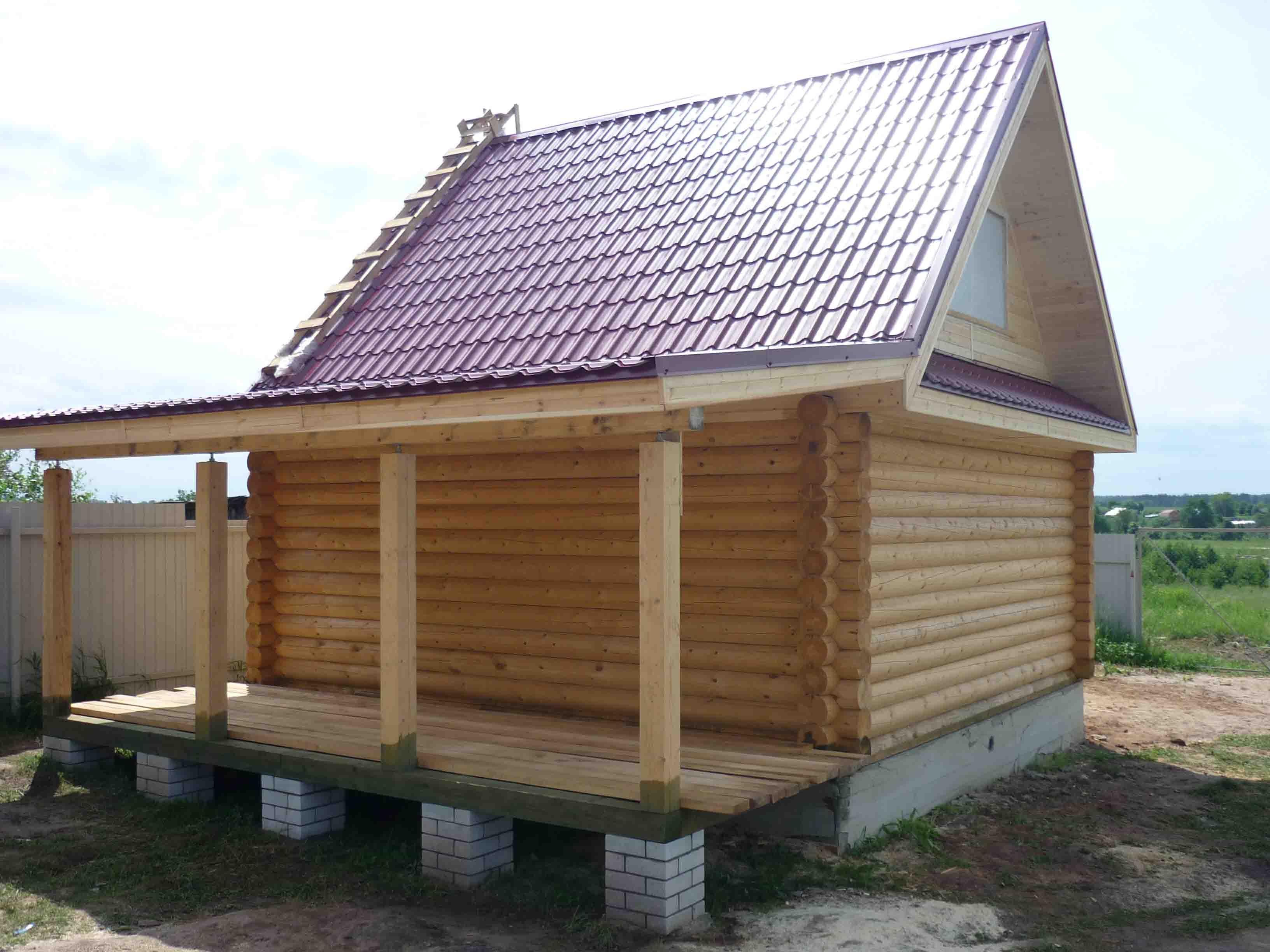 сколько стоит дом построить из бревна